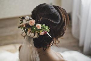 Hochzeitsfrisur Zeitz