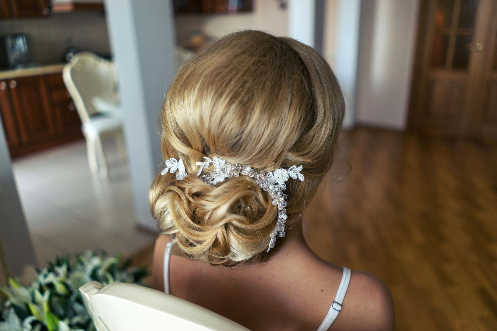 Haarstudio Zeitz Hochzeitsfrisur
